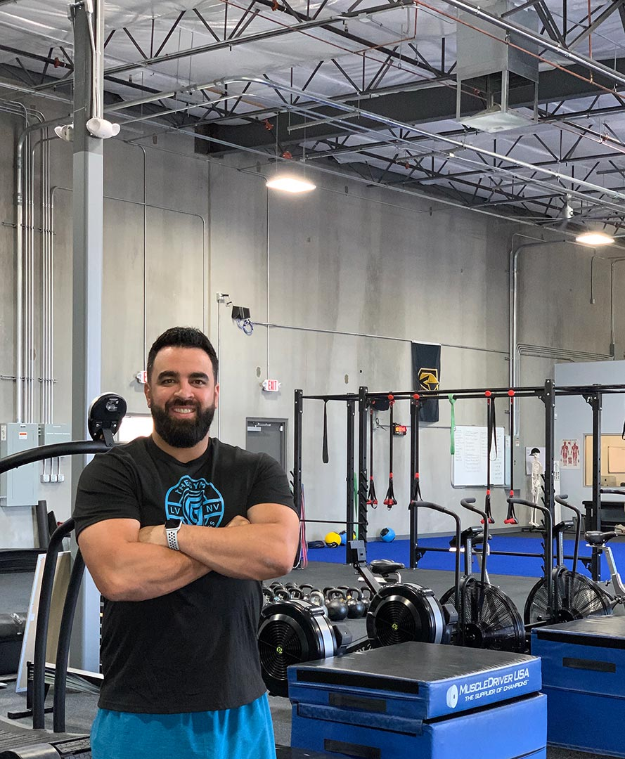 Rob Martinez, Founder and Personal Trainer at The Gym Las Vegas